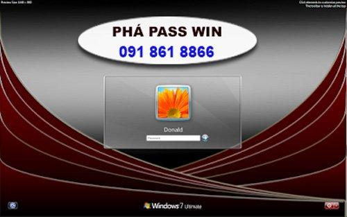 dịch vụ phá mật khẩu tại nhà