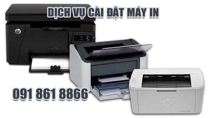 dịch vụ cài đặt máy in tại nhà