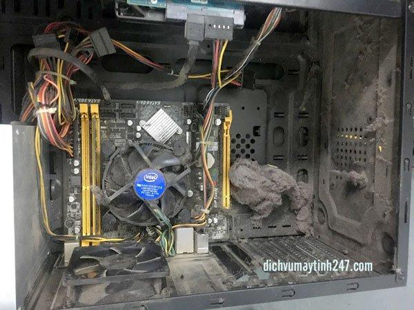 Vệ sinh máy tính tại nhà