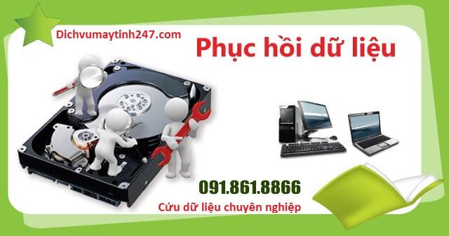 Dịch vụ cứu hộ dữ liệu chuyên nghiệp nhất Hà Nội