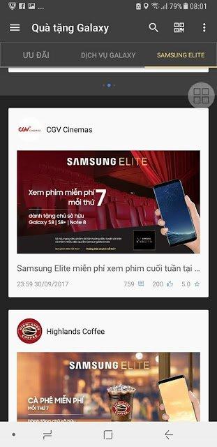 Cách kích hoạt Samsung elite để nhận ưu đãi hấp dẫn