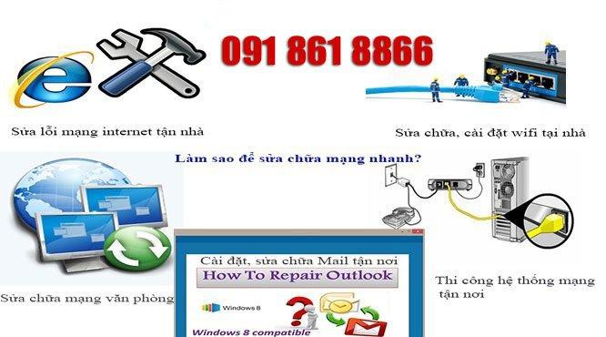 sửa chữa mạng internet tại nhà quận đống đa