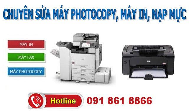 Sửa chữa máy photocopy tận nhà Hà Nội