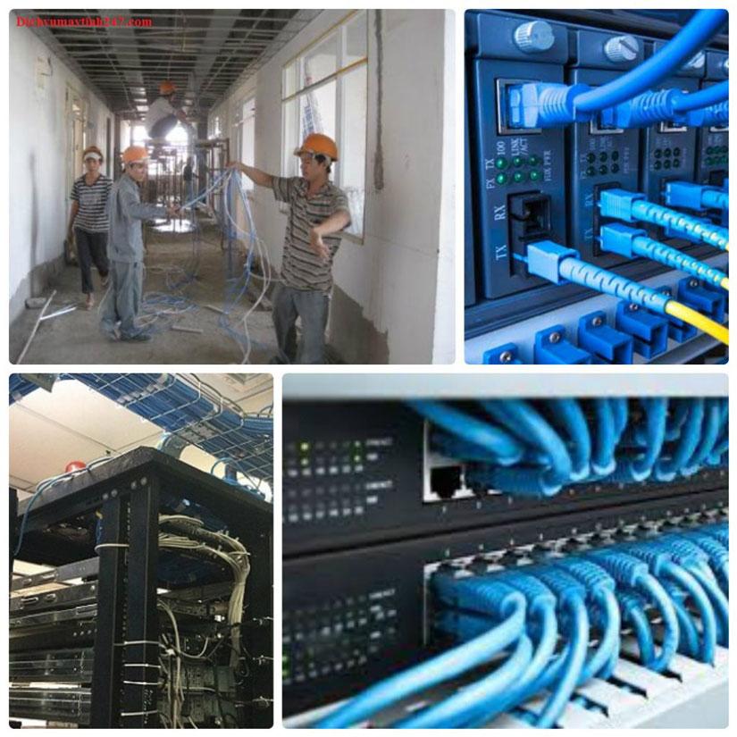 thi công lắp đặt hệ thống mạng WIFI LAN WAN
